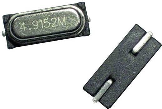 SMD kwarts 49USMX-serie Crystal EuroQuartz 24.576MHZ 49USMX 30/50/40/18PF Frequentie 24.576000 MHz (l x b x h) 11.35 x