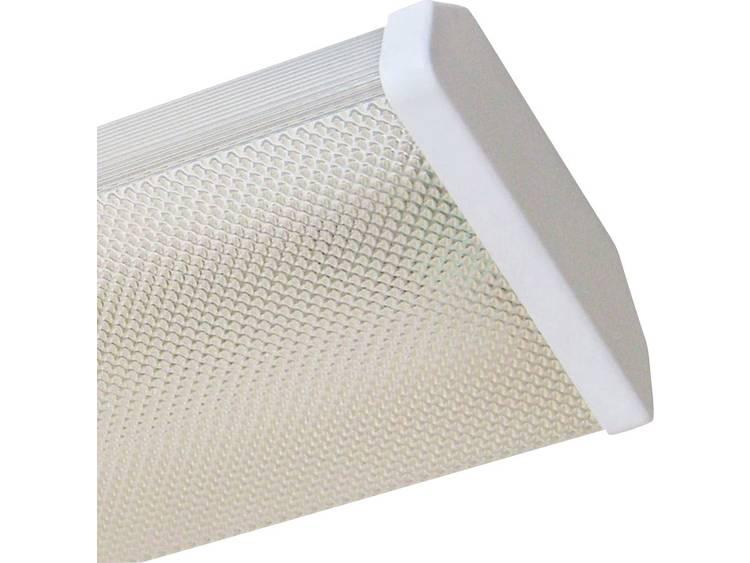 Plafondlamp LED G13 Energielabel: A+ (A++ - E) 18 W Müller Licht Prismatik 20300525 Wit