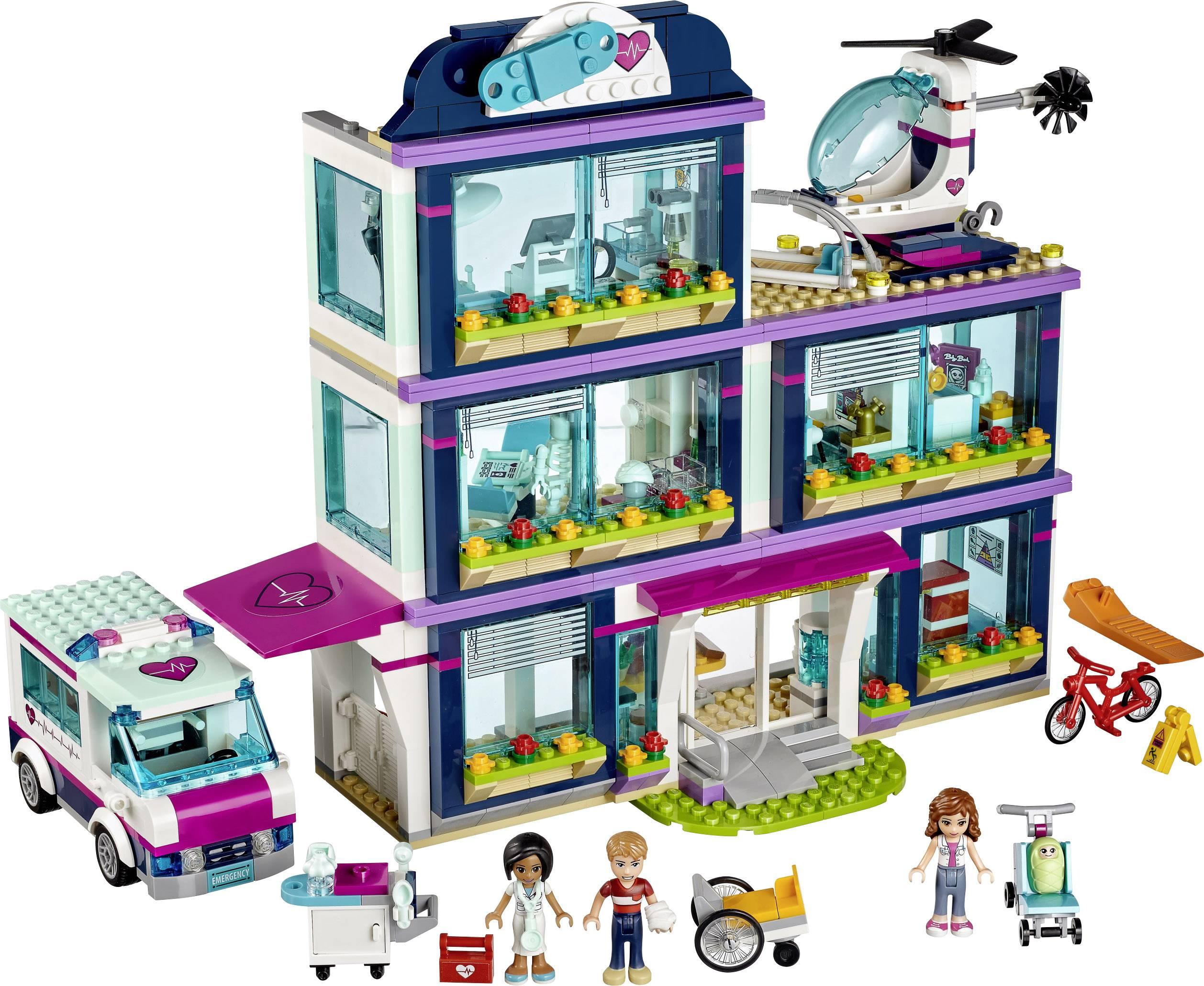 LEGO® FRIENDS 41318 Heartlake ziekenhuis   Conrad.be