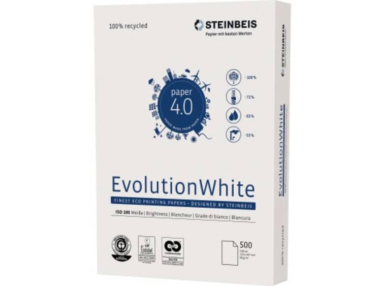 Printpapier STEINBEIS Evolution White A4 1553998 DIN A4 80 g/m² 500 vellen Wit