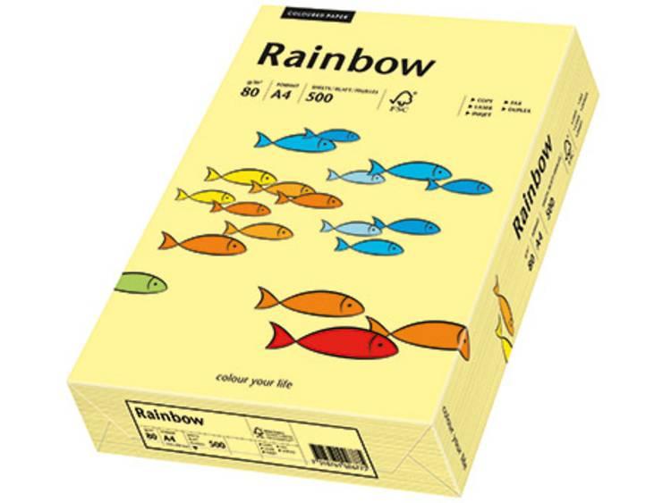 Papyrus Rainbow Color A4 Gekleurd papier DIN A4 80 g/m² 500 vellen Lichtgeel