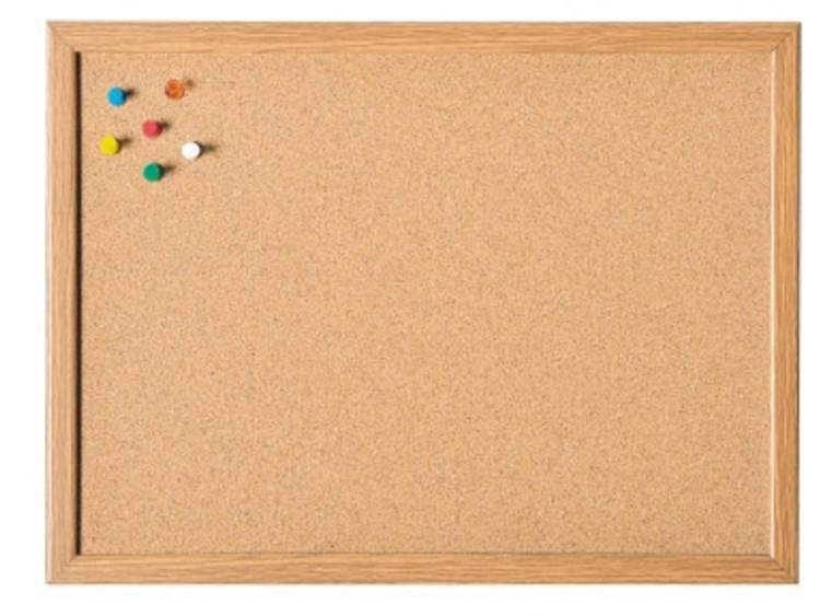magnetoplan® Korkpinnwand 80 x 60 cm (B x H) MDF