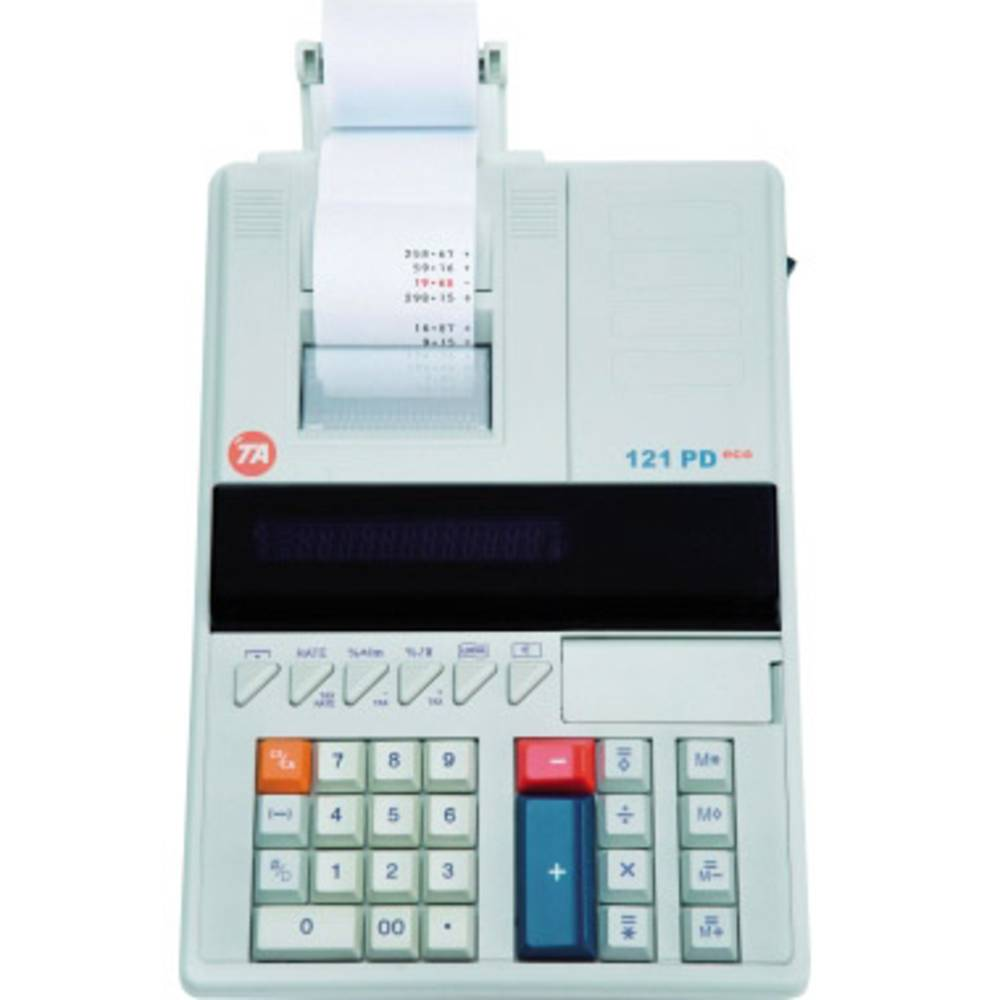 Triumph-Adler Printrekenmachine TA 121 PD Eco Wit