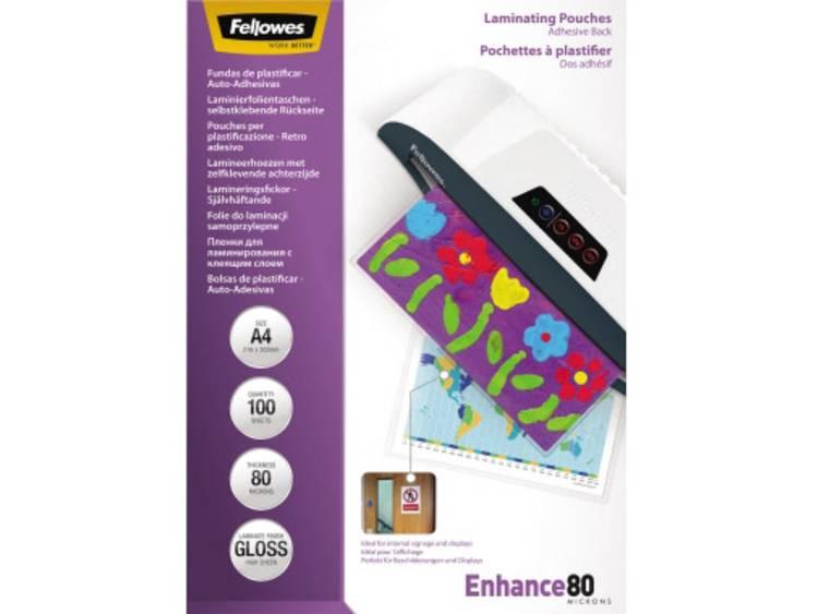Lamineerfolie Fellowes DIN A4 80 micron glanzend 100 stuks