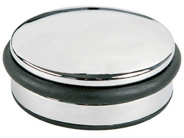 Deurstopper Alco Metaal laag chroom 1300gr