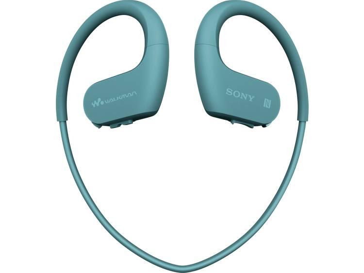 Sony Bluetooth Sport Oordopjes In Ear MP3-player, Bestand tegen zweet, Waterbestendig Blauw