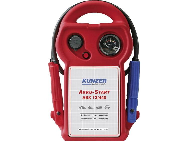 Kunzer AKKU Start ASX 12 440 Snelstartsysteem Starthulpstroom 440 A