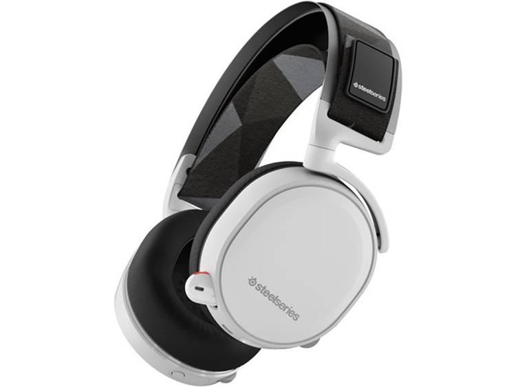 Gaming headset Draadloos Steelseries Arctis 7 Over Ear Wit