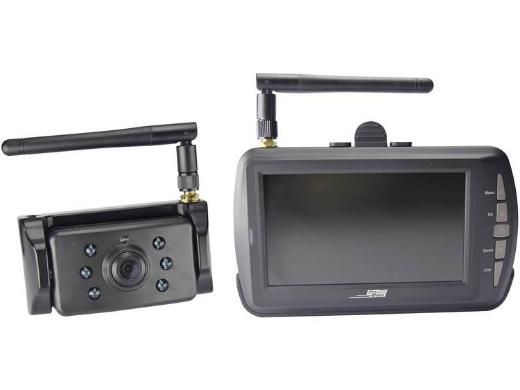 ProUser DRC 4340 Draadloos achteruitrijcamera systeem 2 camera ingangen