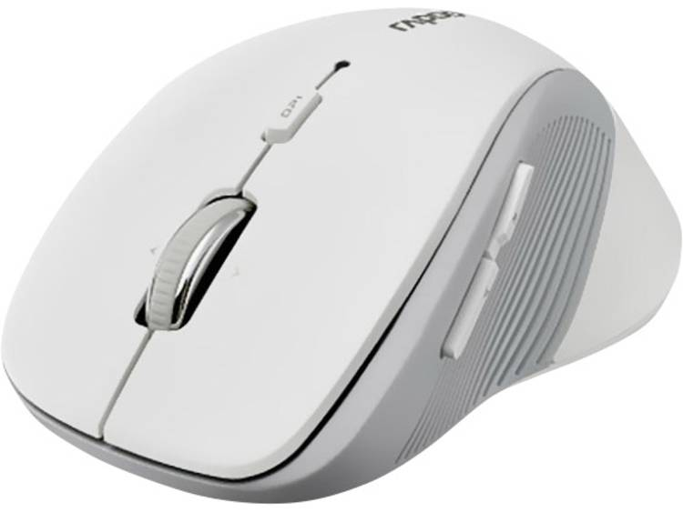 Rapoo 3910 Draadloze muis Optisch Wit
