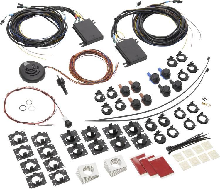 Dometic Group MagicWatch WPS 910 Draadloze parkeersensoren Achterkant. Voorkant akoestisch. optisch