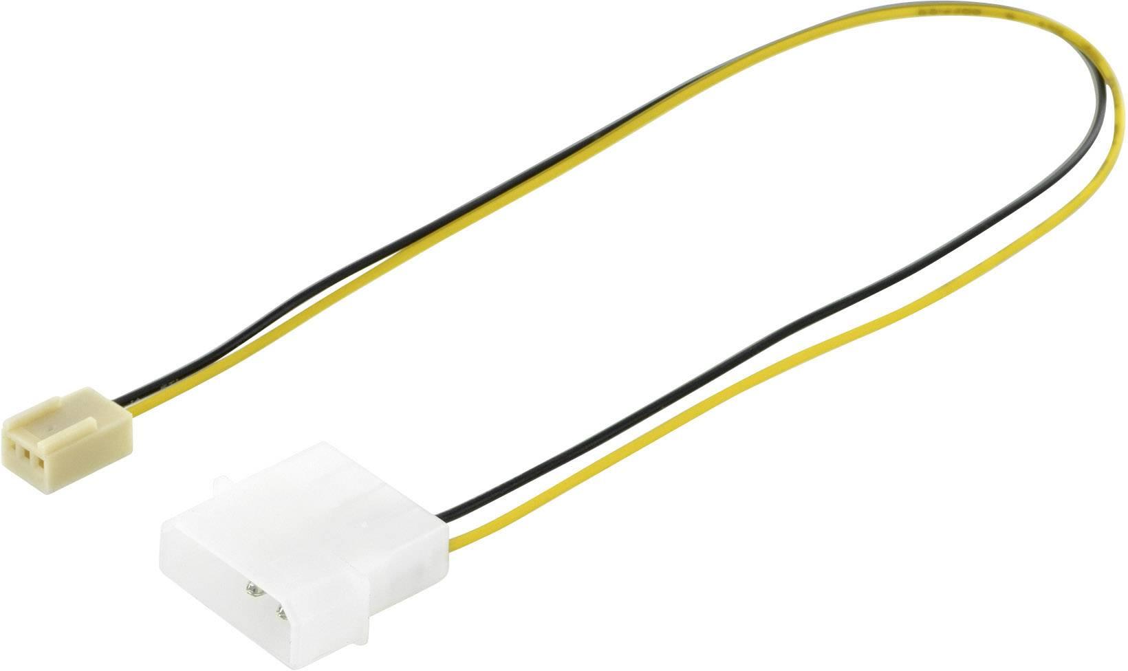 Kabel Digitus PC-ventilator, Computer, Stroom [1x IDE-stroomstekker ...