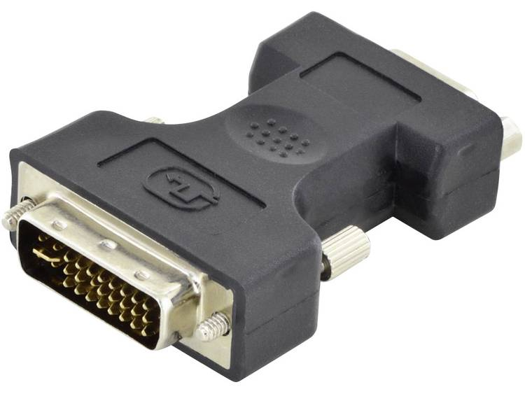 866bcbd563a Digitus DVI VGA Adapter [1x DVI stekker 24 5 polig 1x D sub bus 15 polig]  Zwart Afgeschermd (enkel), Afgeschermd, Rond Foto en video Digitus Deze  adapter is ...