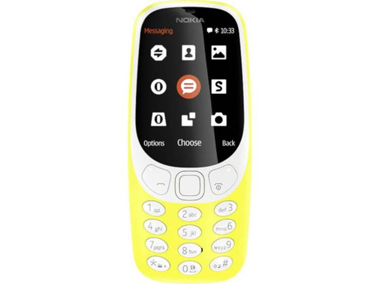 Nokia Dual-SIM telefoon Geel
