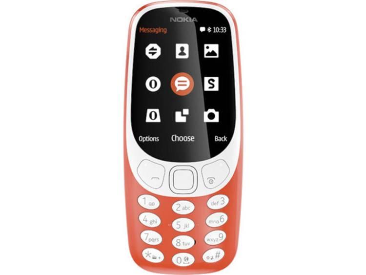 Nokia Dual-SIM telefoon Oranje