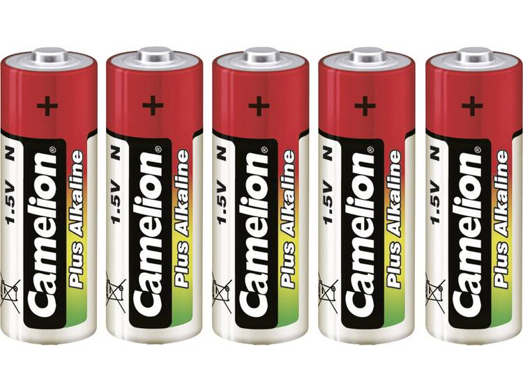 N batterij (lady) Camelion LR1 Alkaline 750 mAh 1.5 V 5 stuk(s)