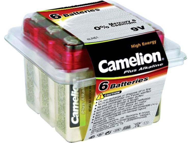 Camelion 6LR61 9V batterij (blok) Alkaline 700 mAh 9 V 6 stuk(s)
