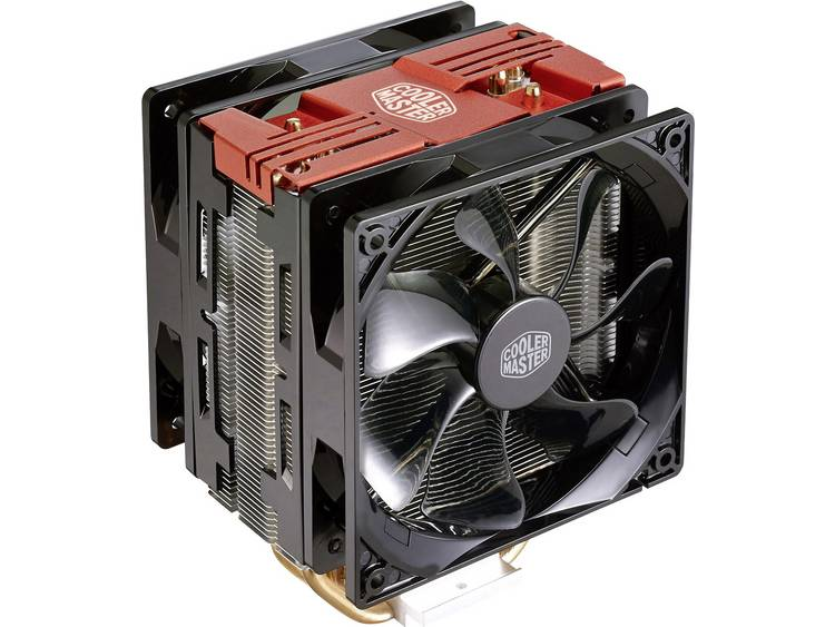 Cooler Master Hyper212 LED Turbo CPU-koellichaam met ventilator