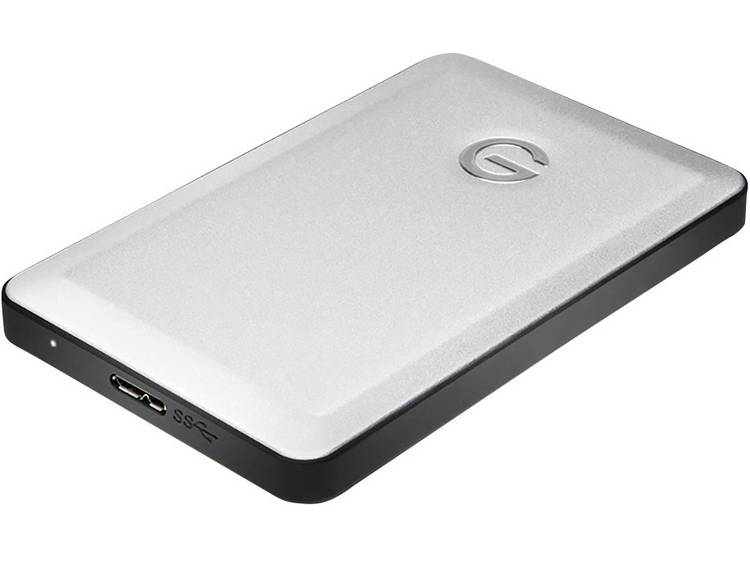 G-Technology G-Drive mobile 7200 1 TB Externe Apple Mac harde schijf (2.5 inch) USB 3.0 Zilver