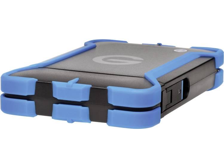 G-Technology 1 TB Externe harde schijf (2.5 inch) Thunderbolt Zwart/blauw