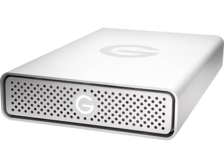 G-Technology G-Drive G1 Externe harde schijf (3.5 inch) 8 TB Zilver USB 3.0 Aluminium behuizing