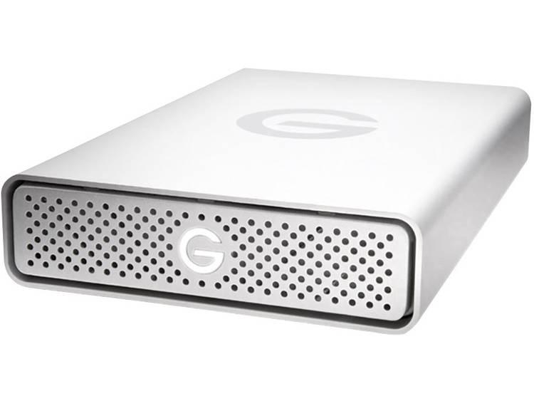 G-Technology G-Drive USB-C Externe harde schijf (3.5 inch) 10 TB Zilver Aluminium behuizing