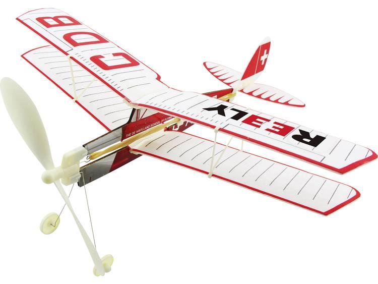 Vrije vlucht vliegtuig Reely Tiger Moth 1559496