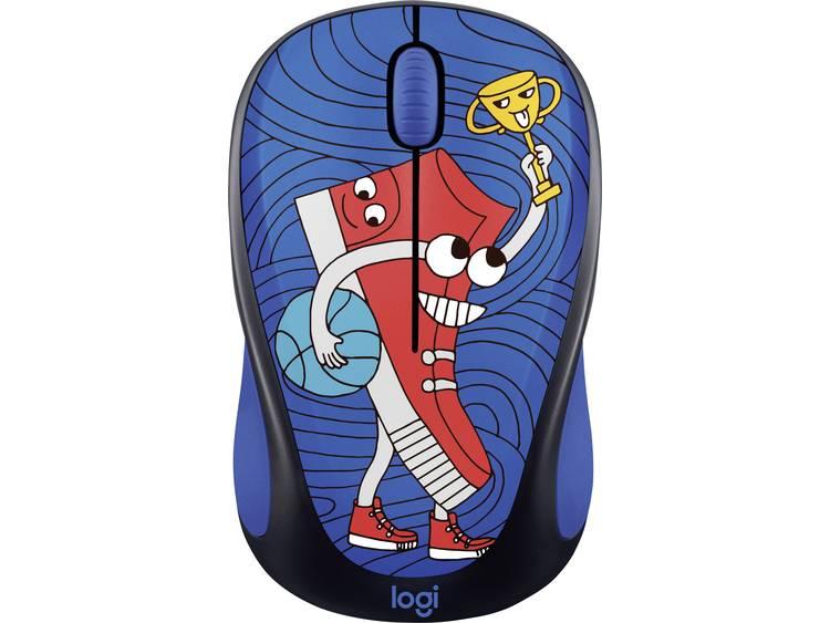 Logitech M238 Draadloze muis Optisch Blauw