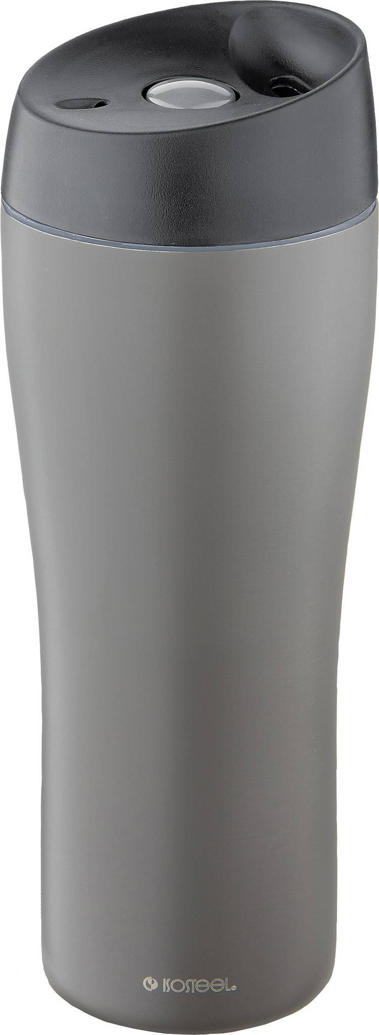 Image of Isosteel VA-9581QTI VA-9581QTI Thermosbeker Titaangrijs 400 ml