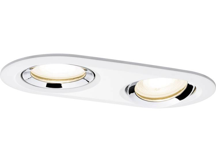 Paulmann Nova Badkamer inbouwlamp LED GU10 14 W IP65 Wit (mat), Chroom