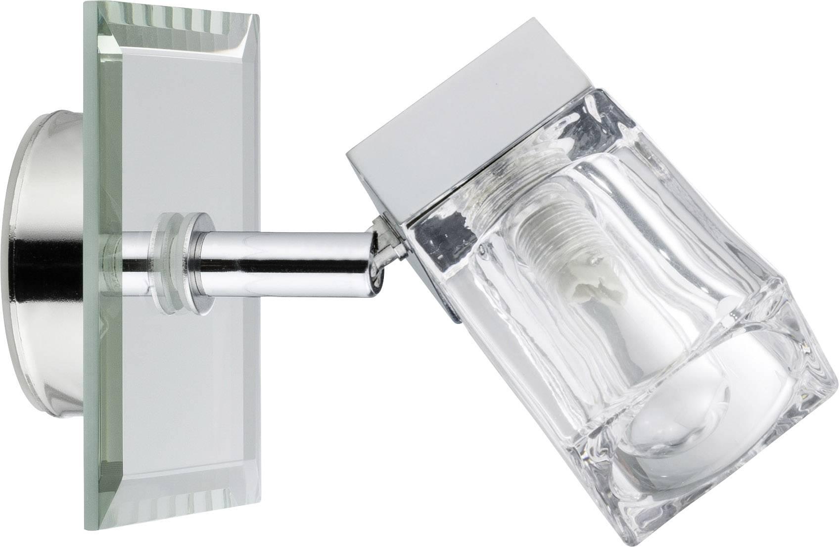 Badkamer Wandlamp Chroom : Badkamer wandlamp halogeen g9 20 w paulmann trabani 70840 chroom