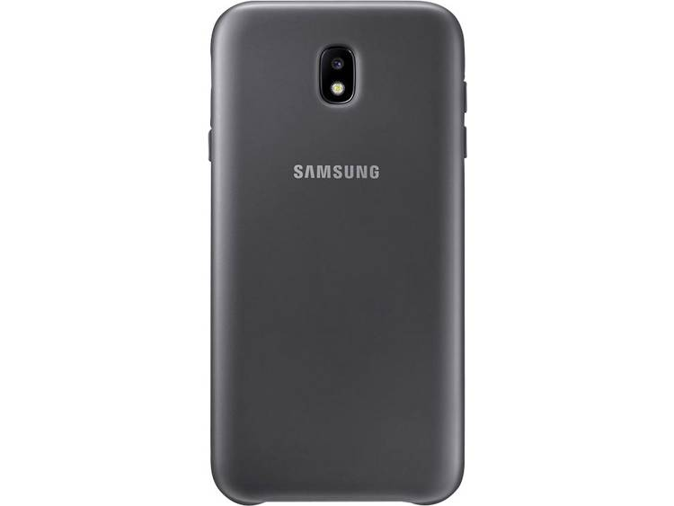 Samsung Galaxy J7 (2017) Dual Layer Cover Zwart voor Galaxy J7 (2017)