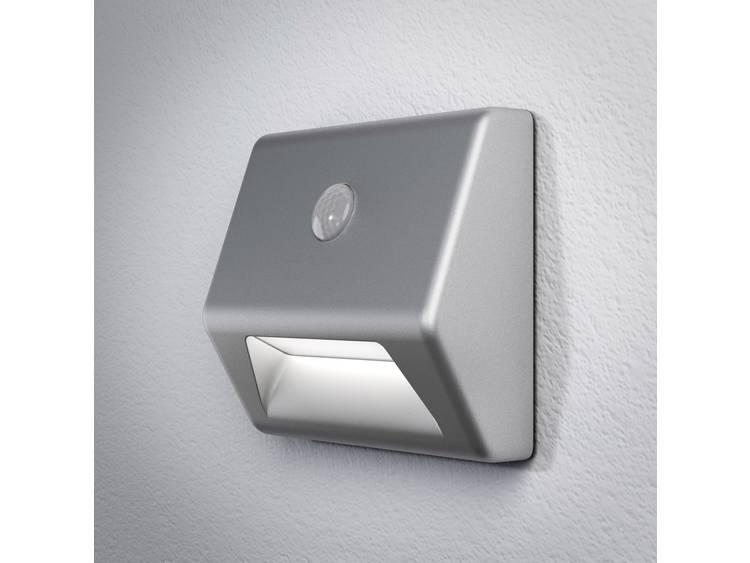 LED LED-nachtlamp met bewegingsmelder Vierkant Neutraal wit Zilver OSRAM NIGHTLUX Stair 405807503061