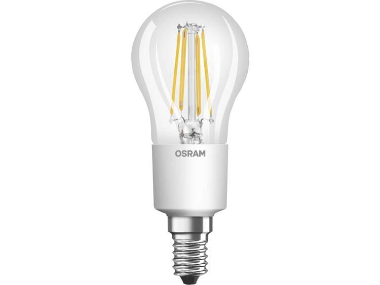 LED-lamp E14 Kogel 5 W = 40 W Warmwit Dimbaar, Filament-Retro-LED OSRAM 1 stuks
