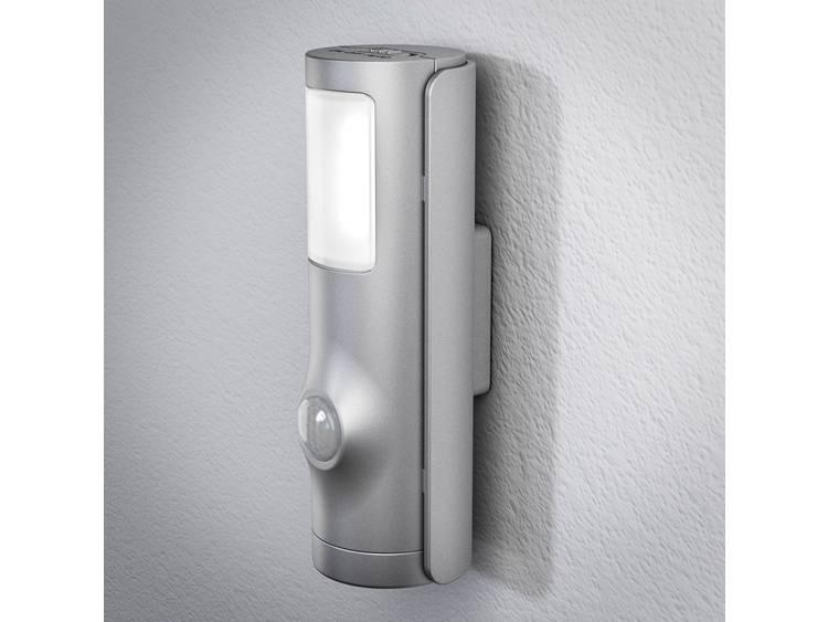 LED LED-nachtlamp met bewegingsmelder Neutraal wit Zilver OSRAM NIGHTLUX Torch Silver 4058075027268