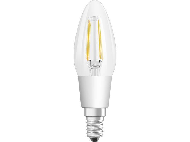 LED-lamp E14 Kaars 5 W = 40 W Warmwit Dimbaar, Filament-Retro-LED OSRAM 1 stuks