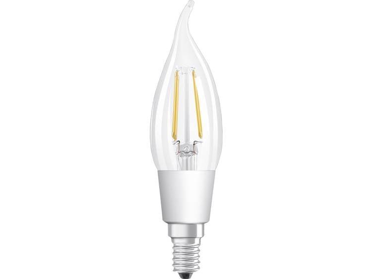 LED-lamp E14 Druipkaars 5 W = 40 W Warmwit Dimbaar, Filament-Retro-LED OSRAM 1 stuks