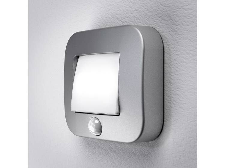 LED LED-nachtlamp met bewegingsmelder Vierkant Neutraal wit Zilver OSRAM NIGHTLUX Hall Silver Bliste