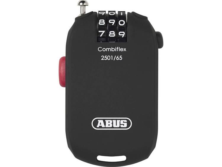 Abus Combiflex 2501 kabelslot zwart 65cm
