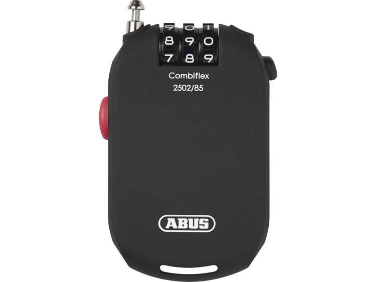 Abus Combiflex 2502-85 code kabelslot zwart