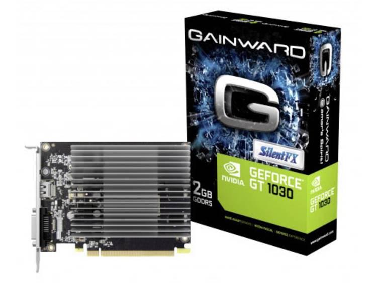 Videokaart Gainward Nvidia GeForce GT1030 SilentFX 2 GB GDDR5-RAM PCIe x16 HDMI, DVI