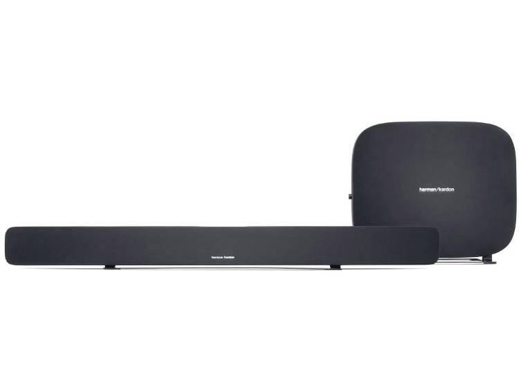 Multiroom luidspreker Harman Kardon Omnibar Soundbar Bluetooth, WiFi, AUX WiFi Zwart