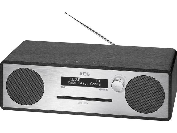 AEG Stereo-Music Center with DAB+ MC 4469 DAB+ black AEG