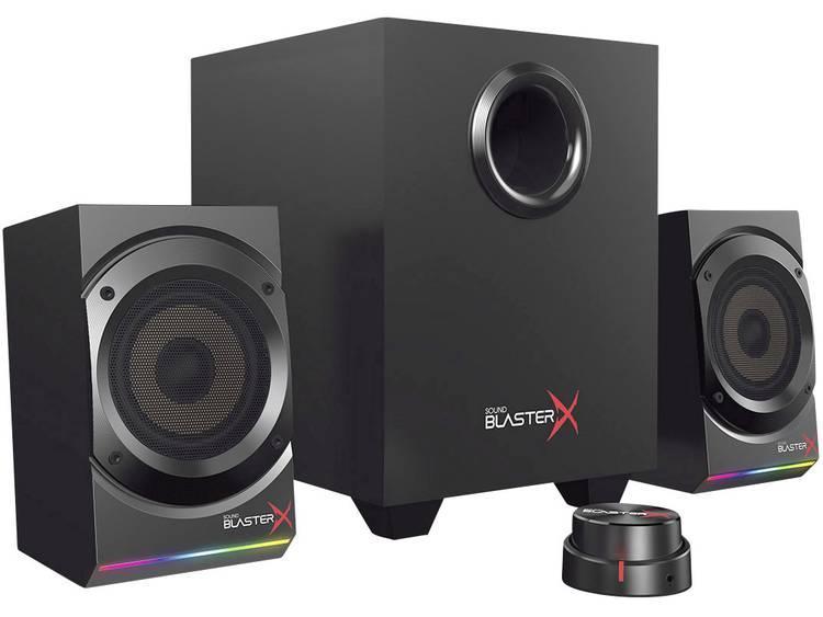 Sound BlasterX Sound BlasterX KRATOS S5 2.1 PC-luidsprekers Kabelgebonden Zwart