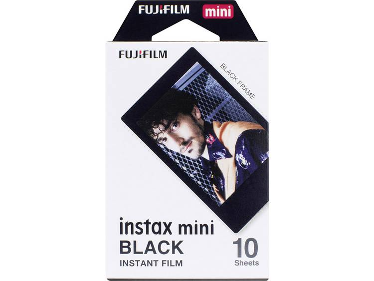 Fujifilm Instax Mini Colorfilm Black (1-Pak)