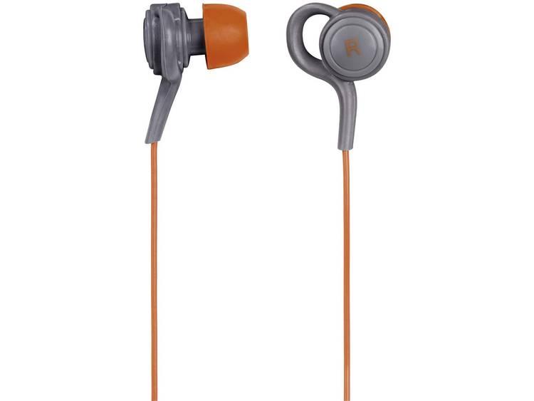 Thomson EAR3205 Sport Koptelefoon In Ear Headset, Bestand tegen zweet, Waterbestendig Oranje, Grijs