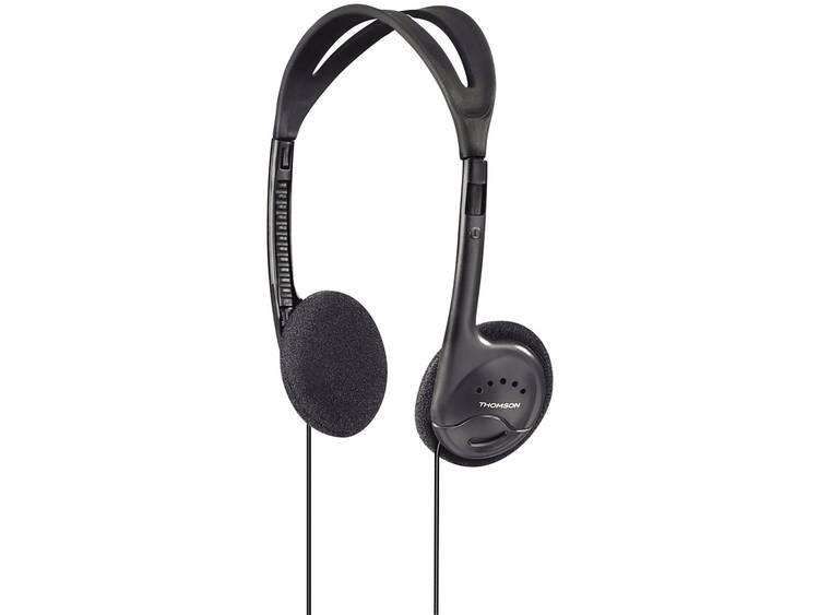 Thomson Hoofdtelefoon on-ear HED1115 zwart .
