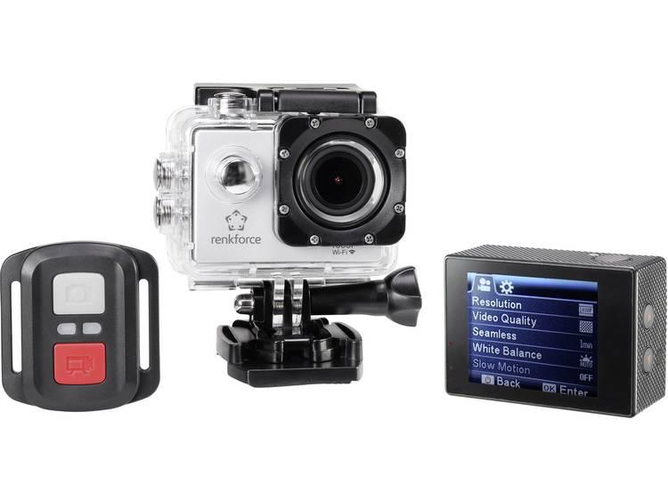 Actioncam Renkforce RF-AC-1080P Full-HD, WiFi, Waterdicht, Stofdicht