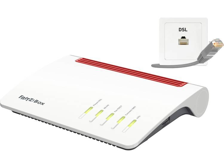 AVM FRITZ!Box 7590 WiFi router met modem Geïntegreerd modem: VDSL, ADSL 2.4 GHz, 5 GHz 2.533 MB/s kopen