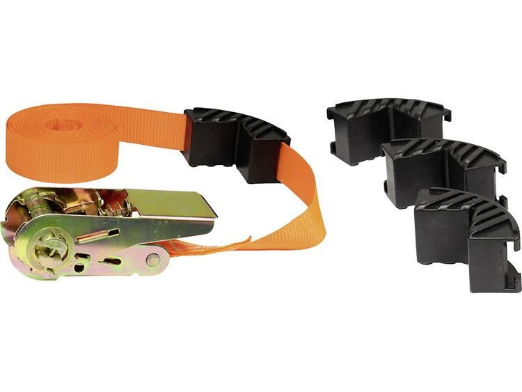 Spanband (eendelig) Trekkracht (lc) vastbinden (enkel direct)=500 daN (l x b) 5 m x 25 mm LAS 10299